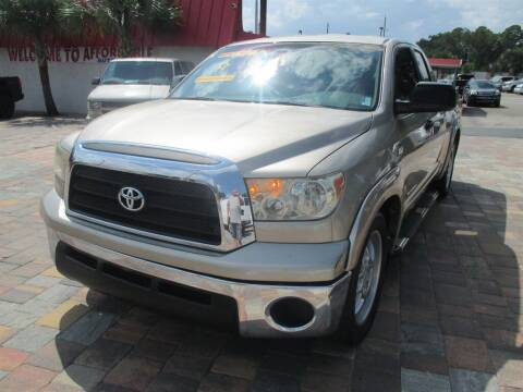 2007 Toyota Tundra for sale at Affordable Auto Motors in Jacksonville FL