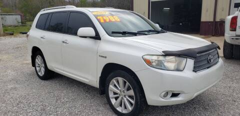 2009 Toyota Highlander Hybrid for sale at COOPER AUTO SALES in Oneida TN