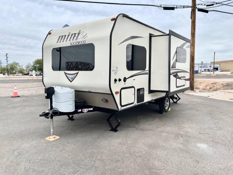 2017 Forest River ROCKWOOD  MINI for sale at Mesa AZ Auto Sales in Apache Junction AZ
