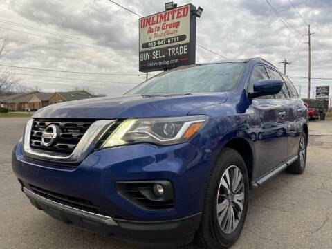 2017 Nissan Pathfinder for sale at Unlimited Auto Group in West Chester OH