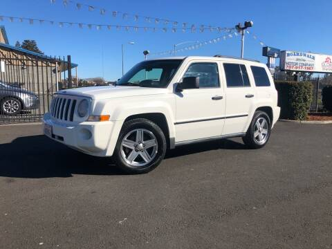 2007 Jeep Patriot for sale at BOARDWALK MOTOR COMPANY in Fairfield CA