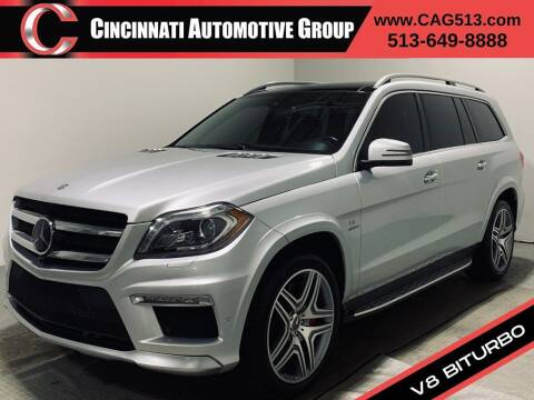 2015 Mercedes-Benz GL-Class for sale at Cincinnati Automotive Group in Lebanon OH