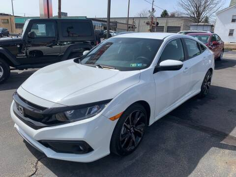 2019 Honda Civic for sale at Red Top Auto Sales in Scranton PA
