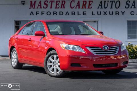 2008 Toyota Camry Hybrid for sale at Mastercare Auto Sales in San Marcos CA