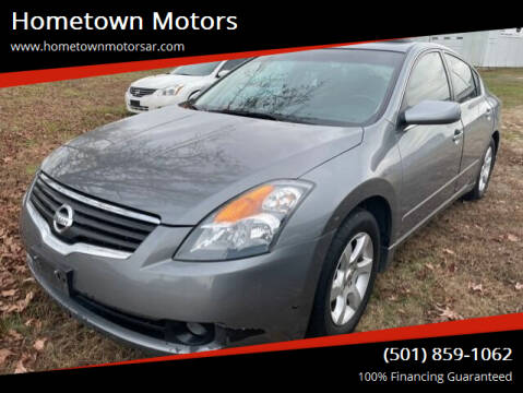 2009 Nissan Altima for sale at Hometown Motors in Jacksonville AR