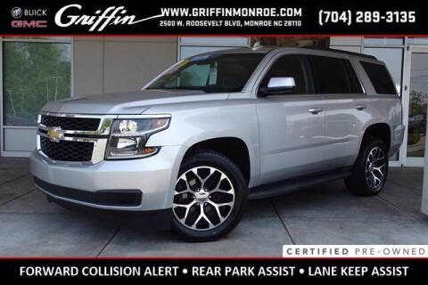2020 Chevrolet Tahoe for sale at Griffin Buick GMC in Monroe NC
