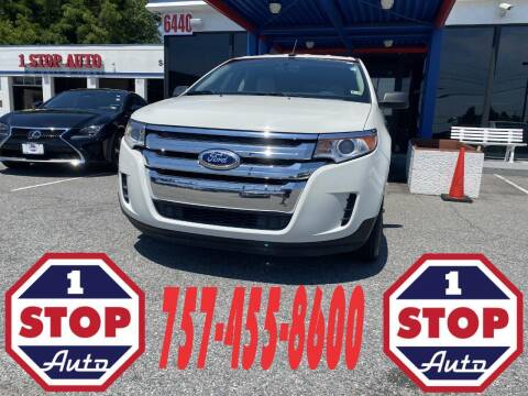 2012 Ford Edge for sale at 1 Stop Auto in Norfolk VA
