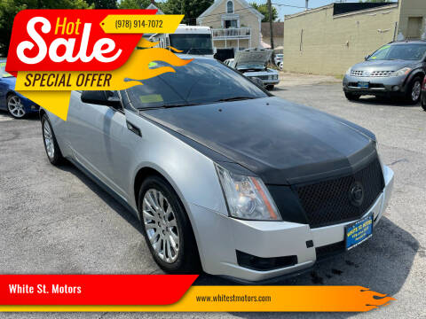 2013 Cadillac CTS for sale at White St. Motors in Haverhill MA