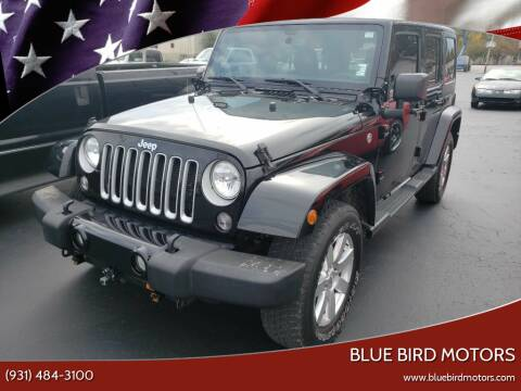 2016 Jeep Wrangler Unlimited for sale at Blue Bird Motors in Crossville TN