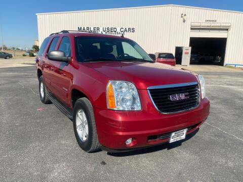 2012 GMC Yukon for sale at MARLER USED CARS in Gainesville TX