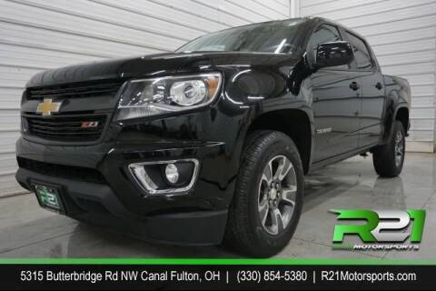 2016 Chevrolet Colorado for sale at Route 21 Auto Sales in Canal Fulton OH