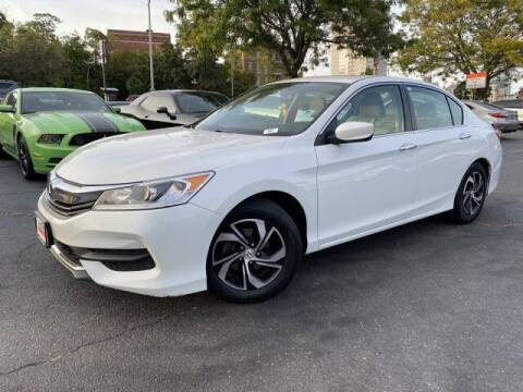 2017 Honda Accord for sale at Sonias Auto Sales in Worcester MA