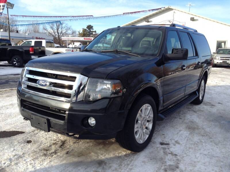 2011 Ford Expedition EL for sale at Steves Auto Sales in Cambridge MN