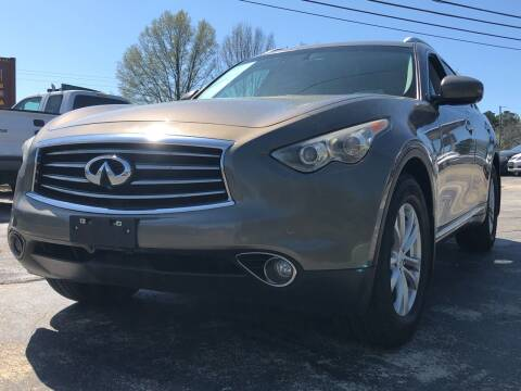 2012 Infiniti FX35 for sale at Capital Motors in Raleigh NC