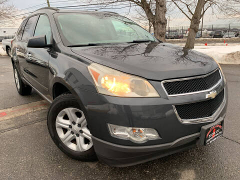 2009 Chevrolet Traverse for sale at JerseyMotorsInc.com in Teterboro NJ