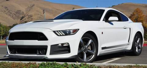 2015 Ford Mustang for sale at AMC Auto Sales, Inc. in Fremont CA