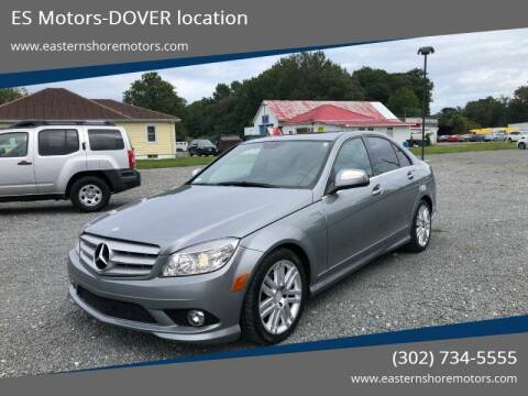 2008 Mercedes-Benz C-Class for sale at ES Motors-DAGSBORO location - Dover in Dover DE
