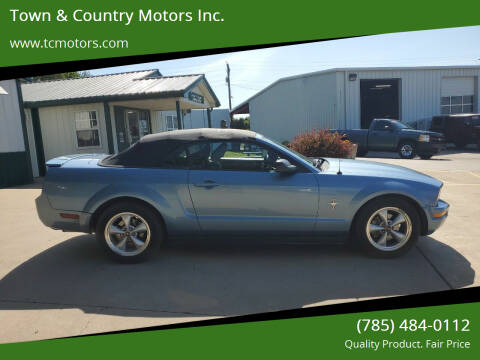 2007 Ford Mustang for sale at Town & Country Motors Inc. in Meriden KS