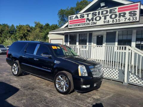 2008 Cadillac Escalade ESV for sale at EASTSIDE MOTORS in Tulsa OK