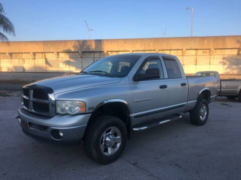 2005 Dodge Ram Pickup 2500 for sale at Florida Cool Cars in Fort Lauderdale FL