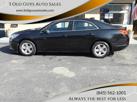 2015 Chevrolet Malibu for sale at 3 Old Guys Auto Sales in Newburgh NY