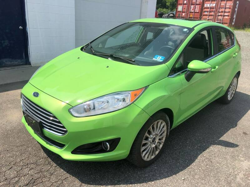 2015 Ford Fiesta for sale at Pinnacle Automotive Group in Roselle NJ