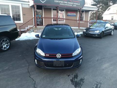 2012 Volkswagen GTI for sale at Lux Car Sales in South Easton MA