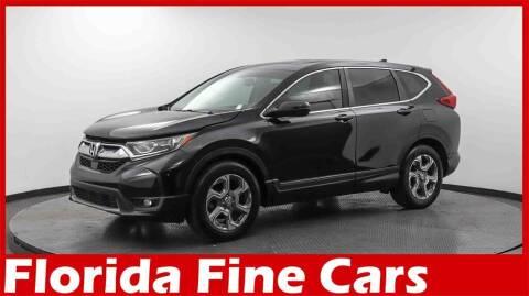 2017 Honda CR-V for sale at Florida Fine Cars - West Palm Beach in West Palm Beach FL