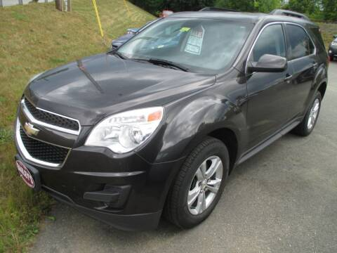 2015 Chevrolet Equinox for sale at Percy Bailey Auto Sales Inc in Gardiner ME