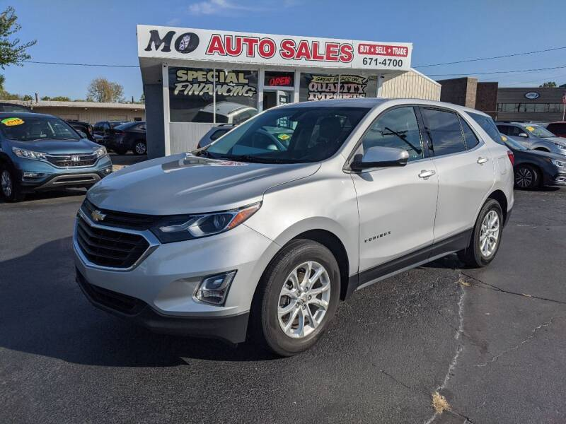 2018 Chevrolet Equinox for sale at Mo Auto Sales in Fairfield OH