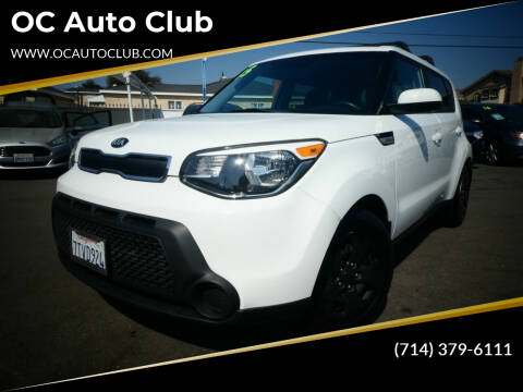 2015 Kia Soul for sale at OC Auto Club in Midway City CA