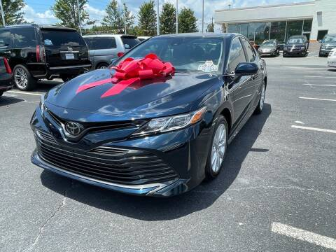 2020 Toyota Camry for sale at Charlotte Auto Group, Inc in Monroe NC