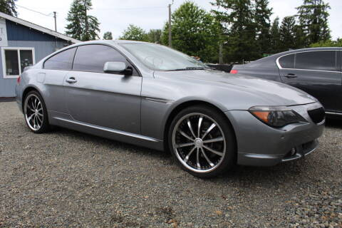 2006 BMW 6 Series for sale at Summit Auto Sales in Puyallup WA