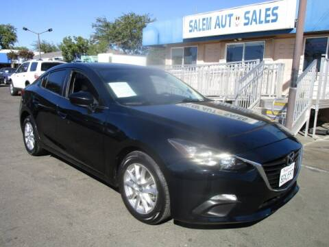 2016 Mazda MAZDA3 for sale at Salem Auto Sales in Sacramento CA