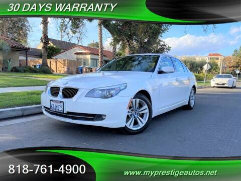 2010 BMW 5 Series for sale at Prestige Auto Sports Inc in North Hollywood CA