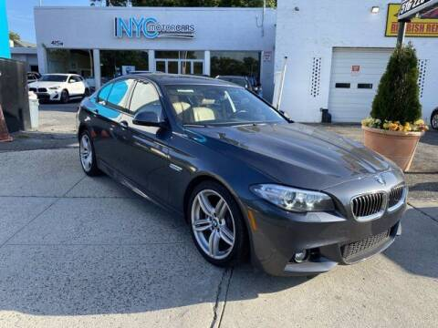 2016 BMW 5 Series for sale at NYC Motorcars in Freeport NY