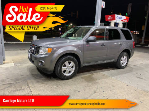 2009 Ford Escape for sale at Carriage Motors LTD in Ingleside IL