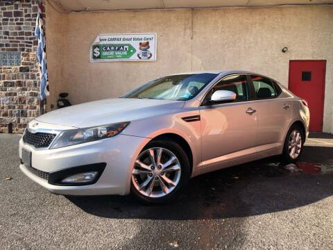 2013 Kia Optima for sale at Keystone Auto Center LLC in Allentown PA