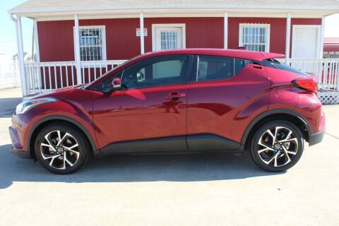 2019 Toyota C-HR for sale at AMT AUTO SALES LLC in Houston TX