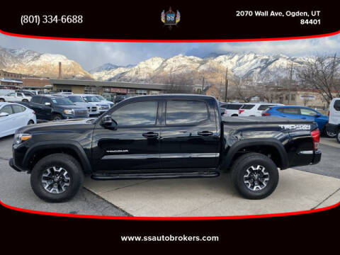 2016 Toyota Tacoma for sale at S S Auto Brokers in Ogden UT