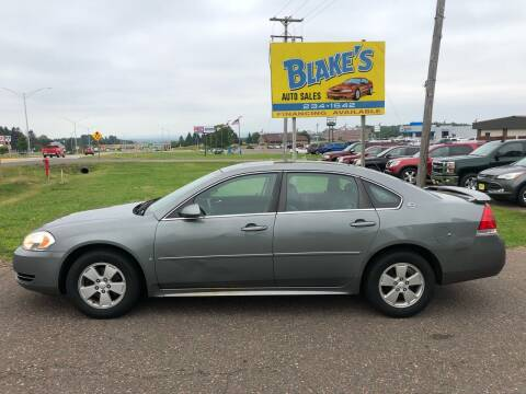 2009 Chevrolet Impala for sale at Blake's Auto Sales in Rice Lake WI