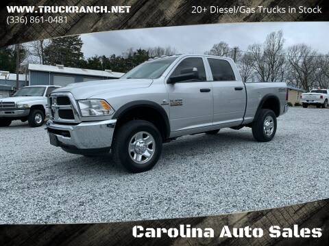 2018 RAM Ram Pickup 2500 for sale at Carolina Auto Sales in Trinity NC
