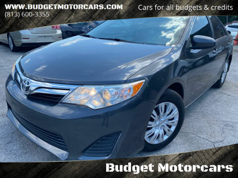 2014 Toyota Camry for sale at Budget Motorcars in Tampa FL