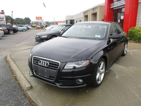 2012 Audi A4 for sale at Premium Auto Collection in Chesapeake VA