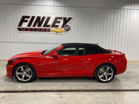 2012 Chevrolet Camaro for sale at Finley Motors in Finley ND