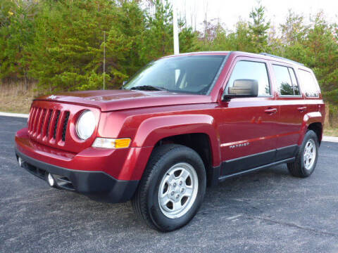 2016 Jeep Patriot for sale at RUSTY WALLACE KIA OF KNOXVILLE in Knoxville TN