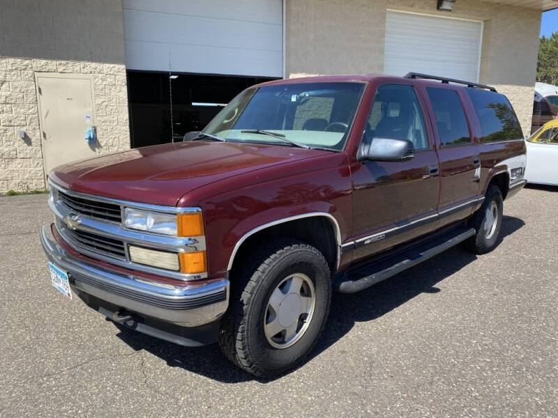 1999 Chevrolet Suburban for sale at Route 65 Sales & Classics LLC - Classic Cars in Ham Lake MN