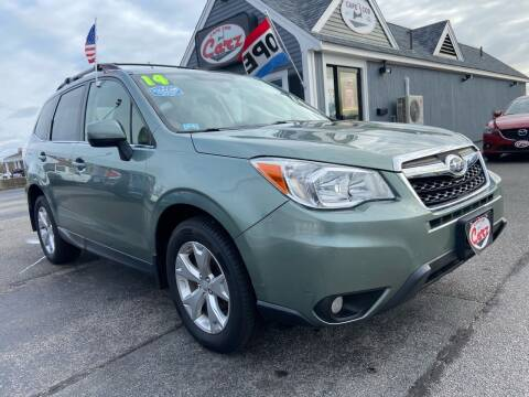 2014 Subaru Forester for sale at Cape Cod Carz in Hyannis MA