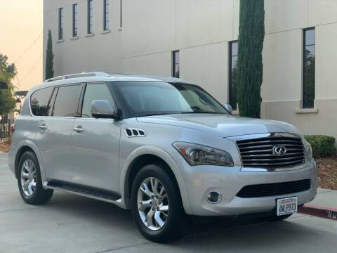 2011 Infiniti QX56 for sale at Auto King in Roseville CA