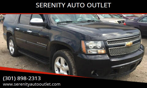 2007 Chevrolet Suburban for sale at SERENITY AUTO OUTLET in Frederick MD